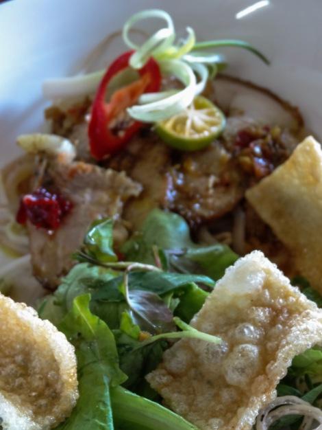 Cau lau - our favourite dish