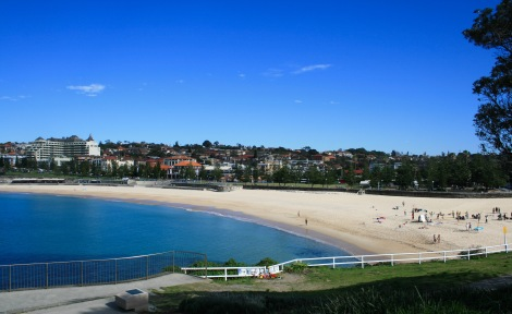 The beaches in Sydney are beautiful