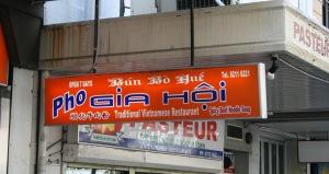Plenty of Vietnamese restaurants to help me get over the cravings!