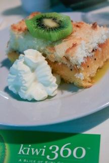 Amazing kiwi cake