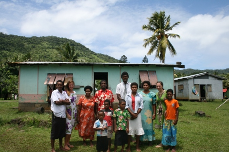 My Fijian family