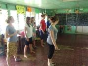 Dance class at school