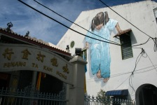 Photo of the week: 'Little Girl in Blue' Mural, Muntri Street, George Town, Penang.
