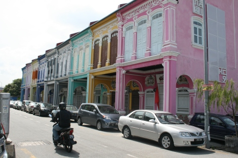 The Penang equivalent of Portobello Road London.