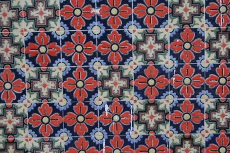 Famous Peranakan tiles.