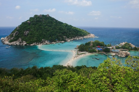 Nangyuan Island, just off of Koh Tao.