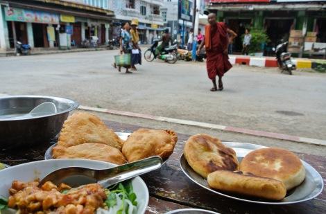 Burmese pastries.