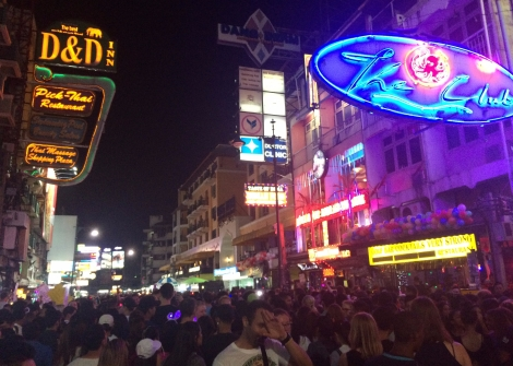 Female solo travel: attacked in Bagkok, Khao San Road