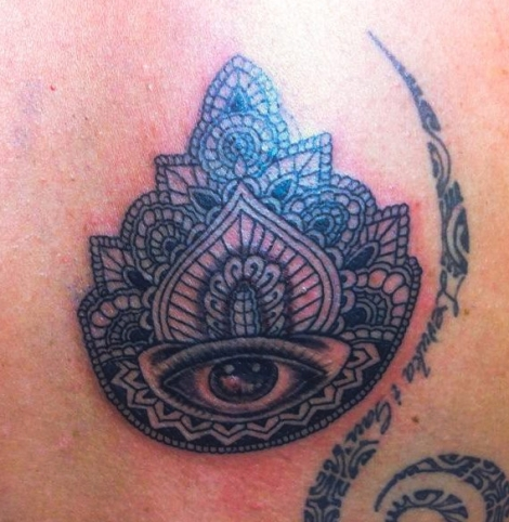 Tattoo in Ubud Bali