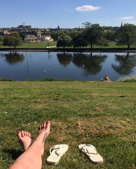 Inverleith Park, best places in the summer sunshine in Edinburgh