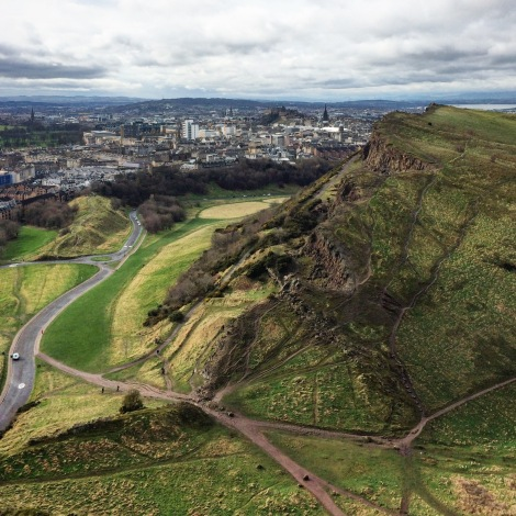 Holyrood Park, best parks and places for enjoying sun in Edinburgh