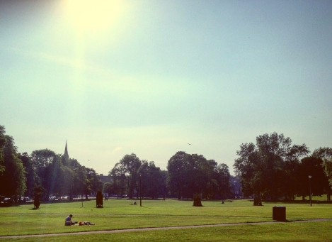 Leith Links, best places in the summer sunshine in Edinburgh