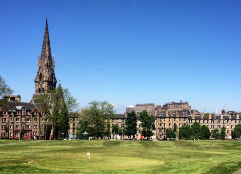 Brunstfield Links, best places in the summer sunshine in Edinburgh